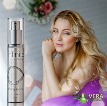INFINITE BY FOREVER™ FIRMING SERUM giver huden et ekstra boost